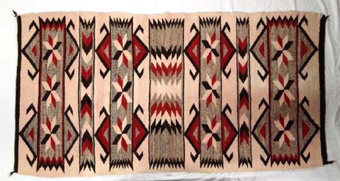 Vintage 1930-1940 Navajo Wool Textile Rug