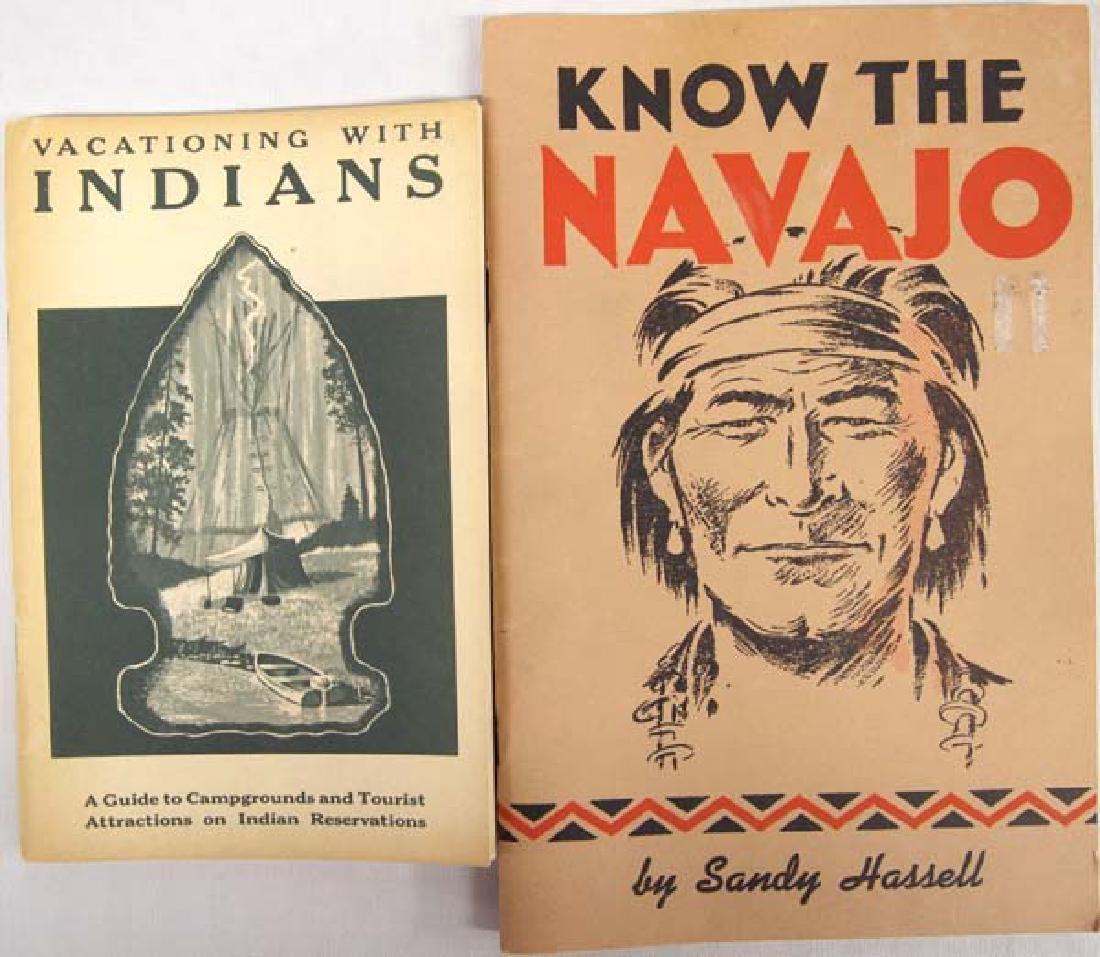 2 Vintage Native American Tourist Booklets