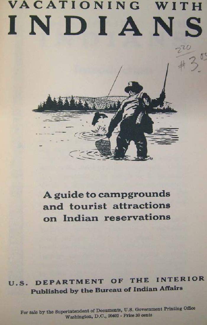 2 Vintage Native American Tourist Booklets - 2
