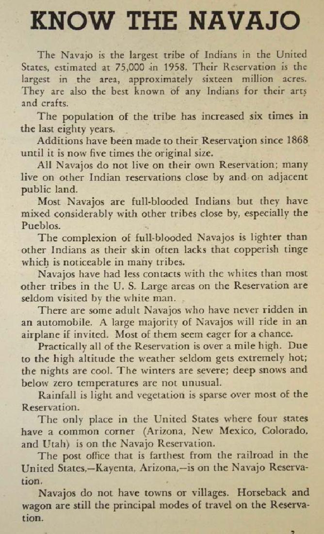 2 Vintage Native American Tourist Booklets - 5