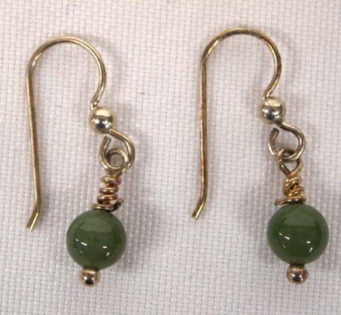 Jasper Agate Necklace, Earrings & Bracelet Set - 3