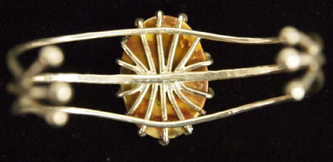 Sterling Botswana Agate Bracelet - 2