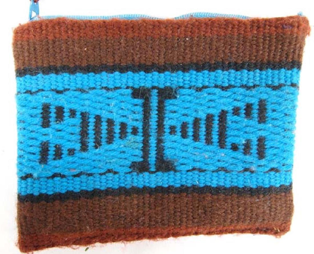 Navajo Wool Textile  Pouches plus Natural Pigments - 2
