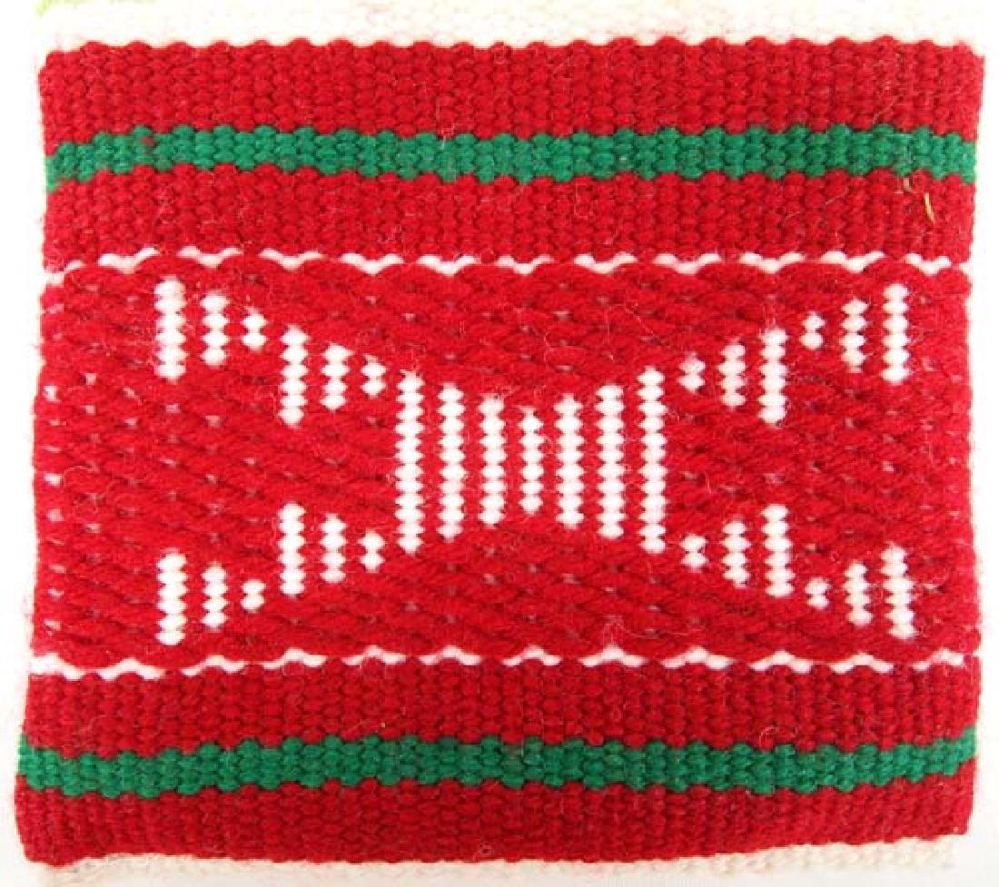 Navajo Wool Textile  Pouches plus Natural Pigments - 3