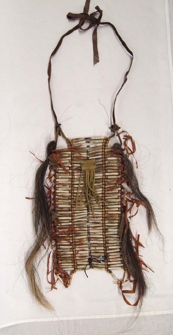 Native American Hare Pipe Bone Breast Plate