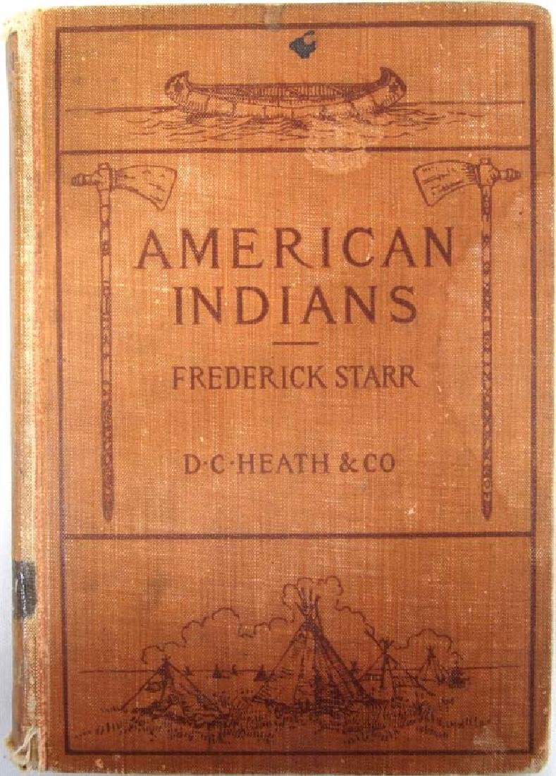 1898 American Indians by Frederick Starr, Book