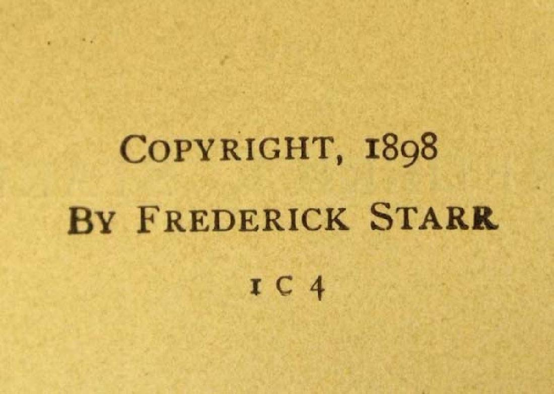 1898 American Indians by Frederick Starr, Book - 2