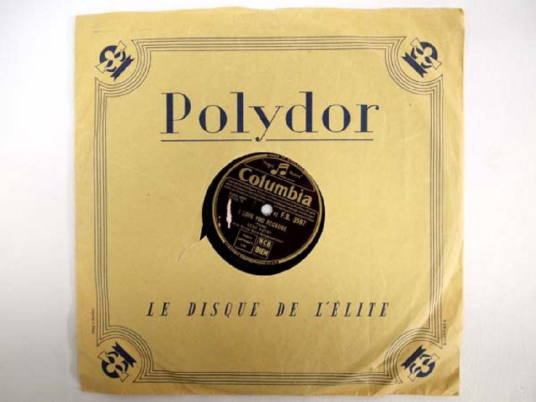 Polydor Gene Autry 78 RPM Record