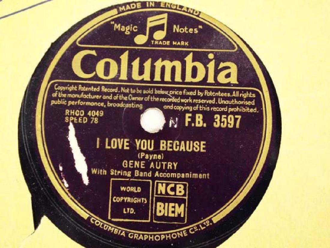 Polydor Gene Autry 78 RPM Record - 2