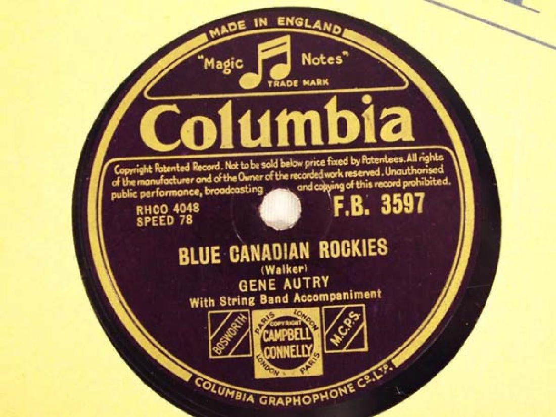 Polydor Gene Autry 78 RPM Record - 3