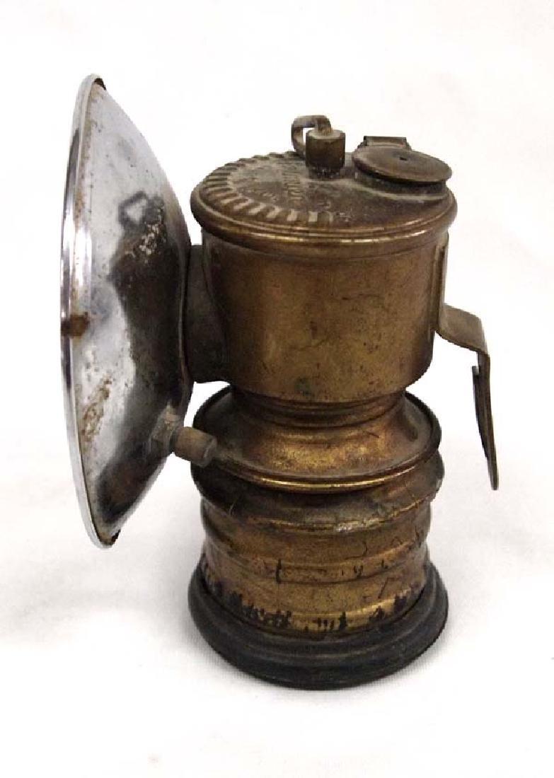 Antique British Premier Miner's Lamp