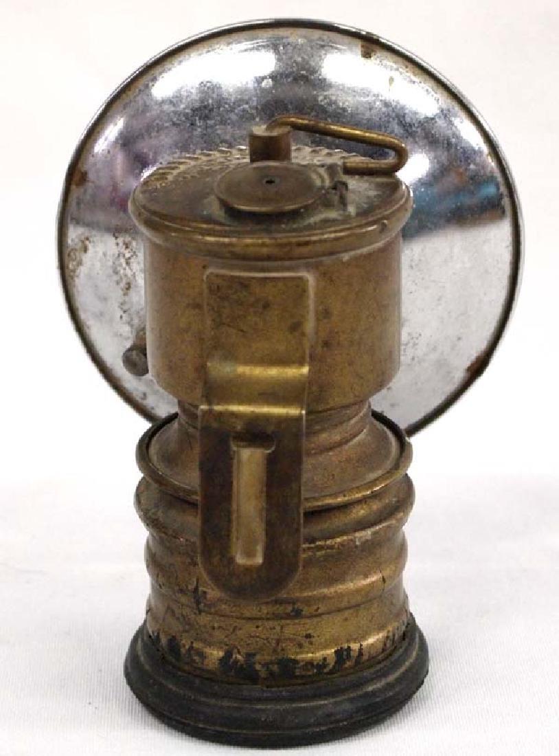 Antique British Premier Miner's Lamp - 3