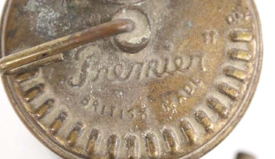 Antique British Premier Miner's Lamp - 4