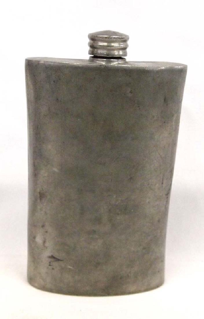 Antique Sheffield Back Pocket Whiskey Flask
