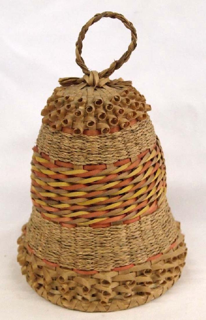 Eastern Penobscot Basketry Bell