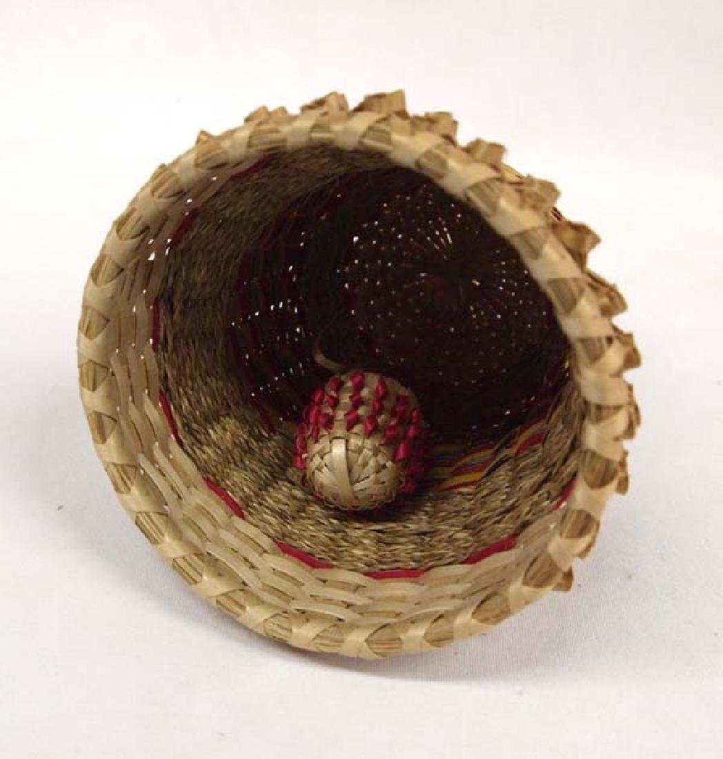 Eastern Penobscot Basketry Bell - 3
