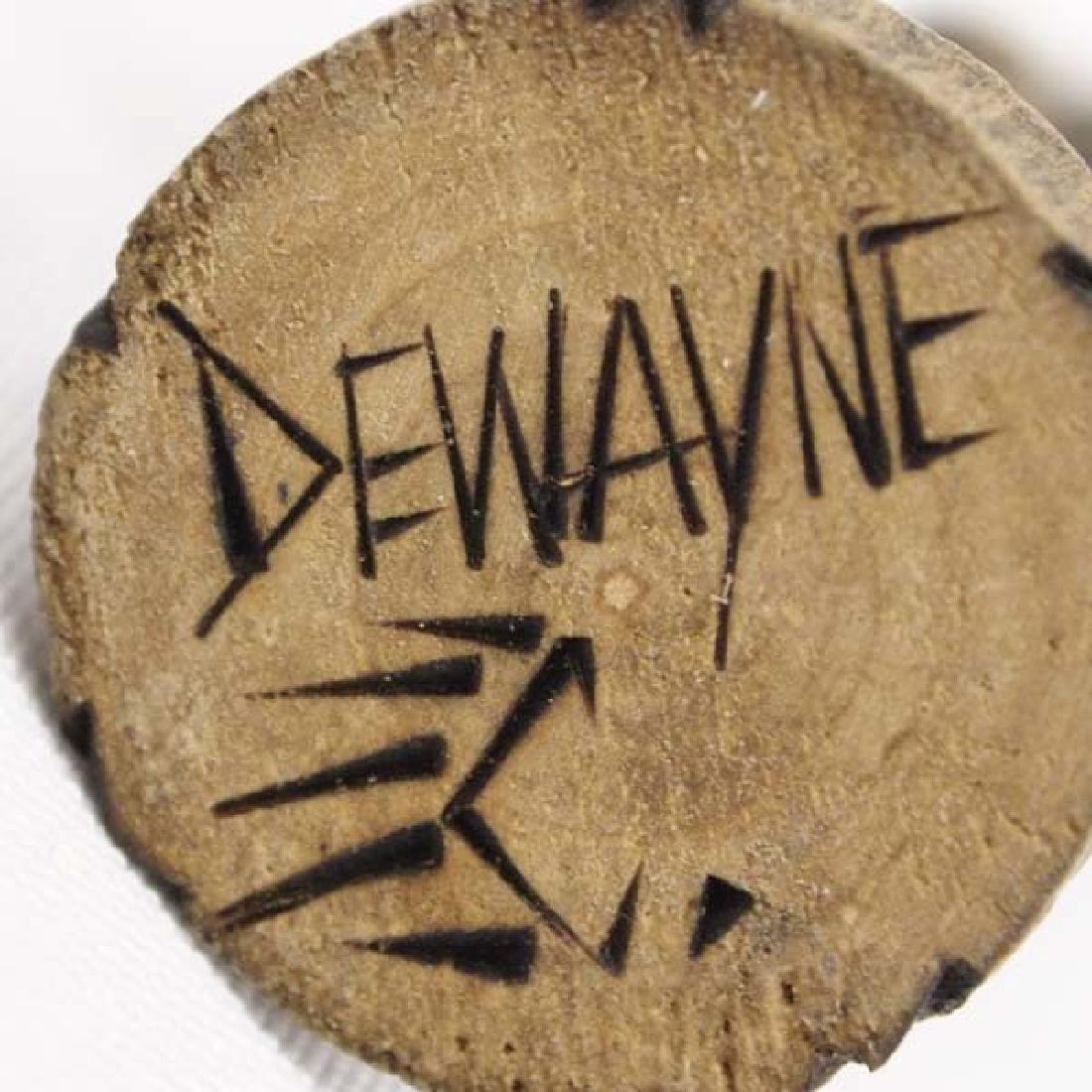 Hopi Carved Wood Koshare Clown Kachina by Dewayne - 3