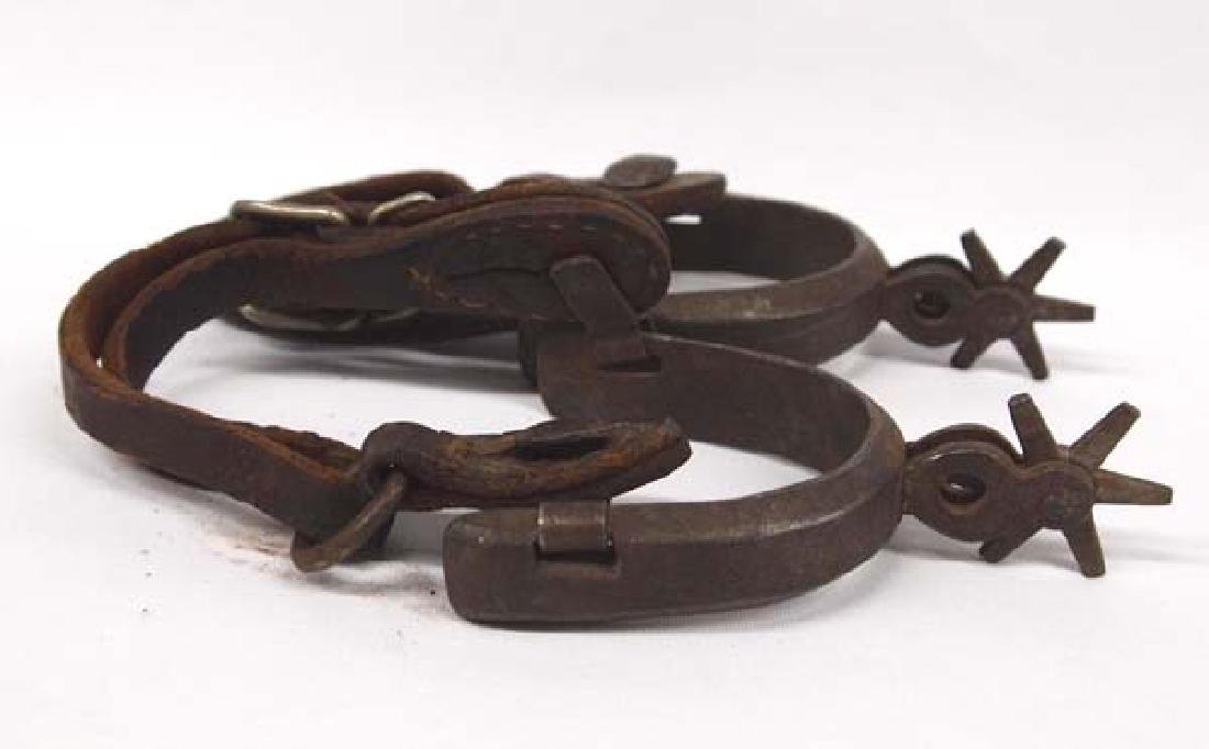 Pair of Vintage Mexican Spurs - 2