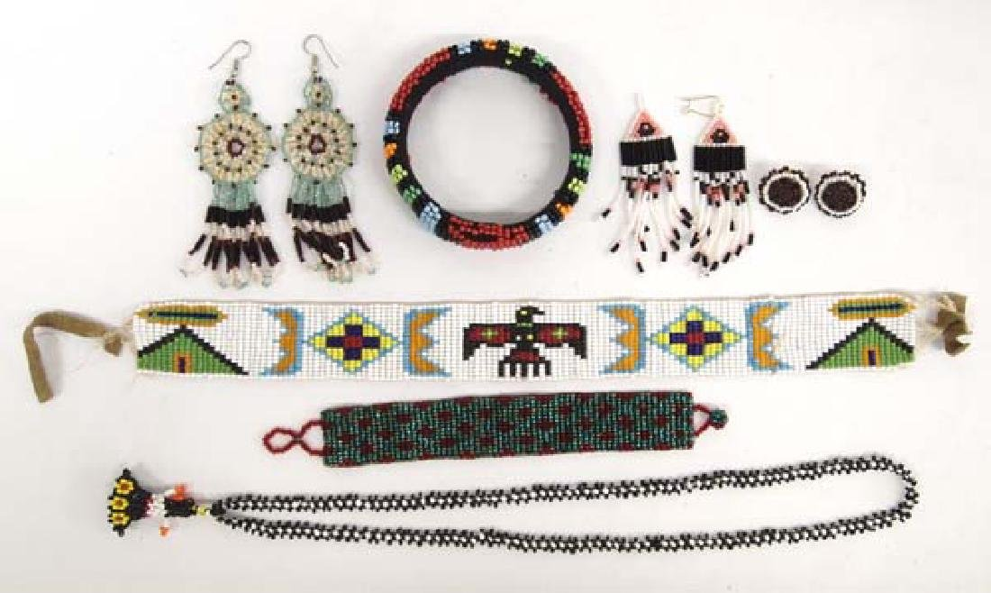 Estate Native American Beadwork