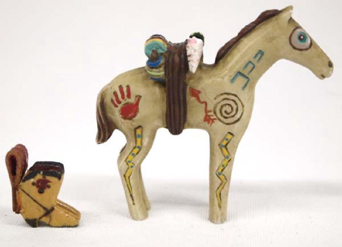 Robert Shields Design Horse and Wooden Boot Charm - 2
