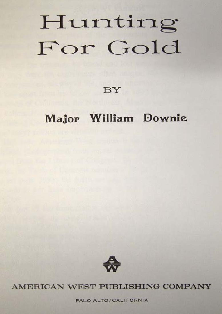 Hunting for Gold by Major William Downie, Book - 2