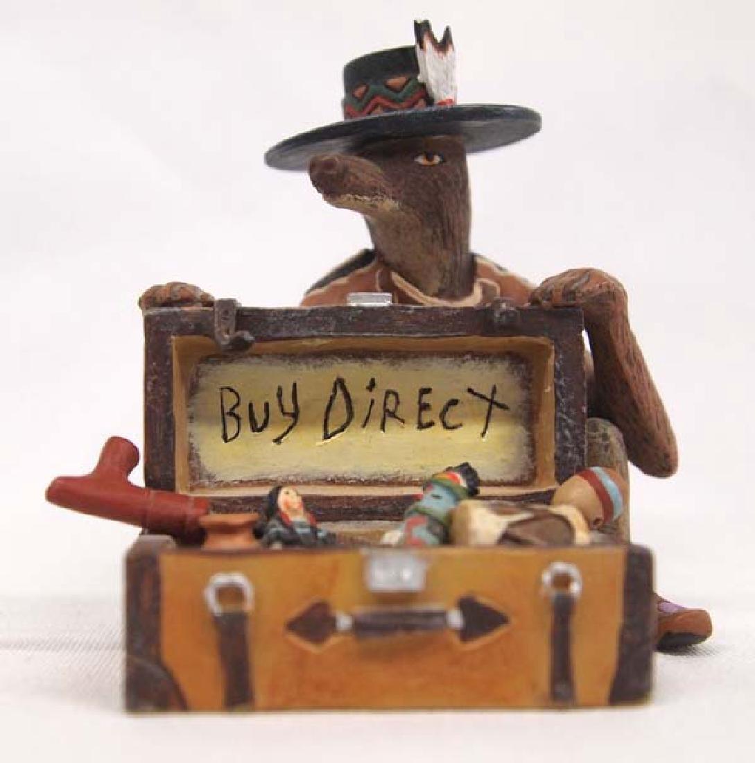 Robert Shields Coyote Trickster Figurine