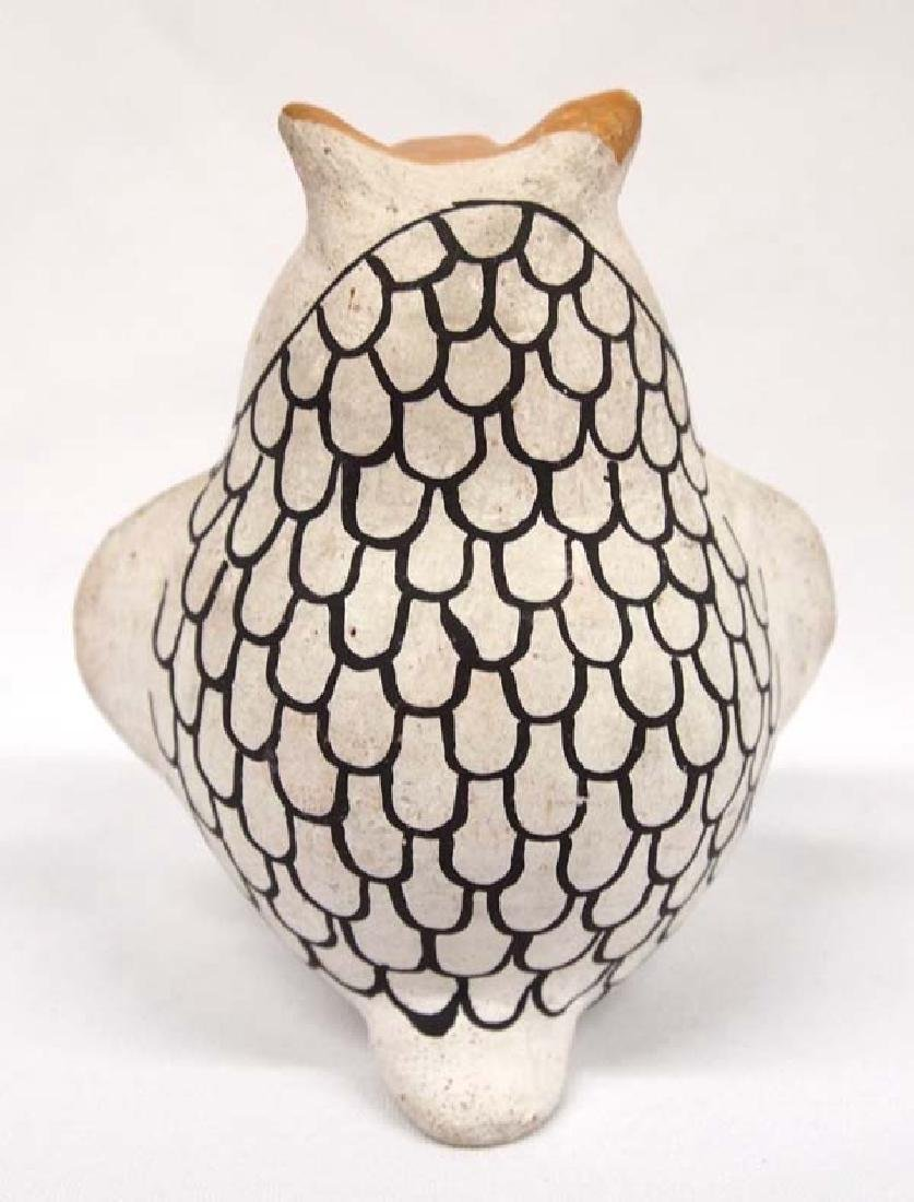 Vintage Acoma Pottery Owl by R. H. Torivio - 2