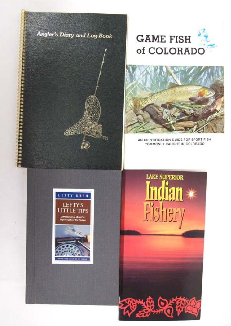 Collection of Fishing Books & Booklets