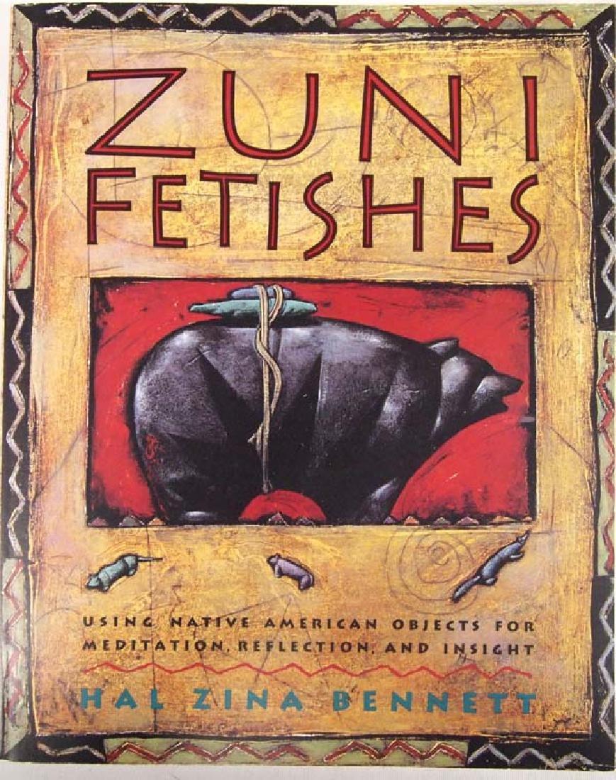 1993 Zuni Fetishes by Hal Zina Bennett, Softback