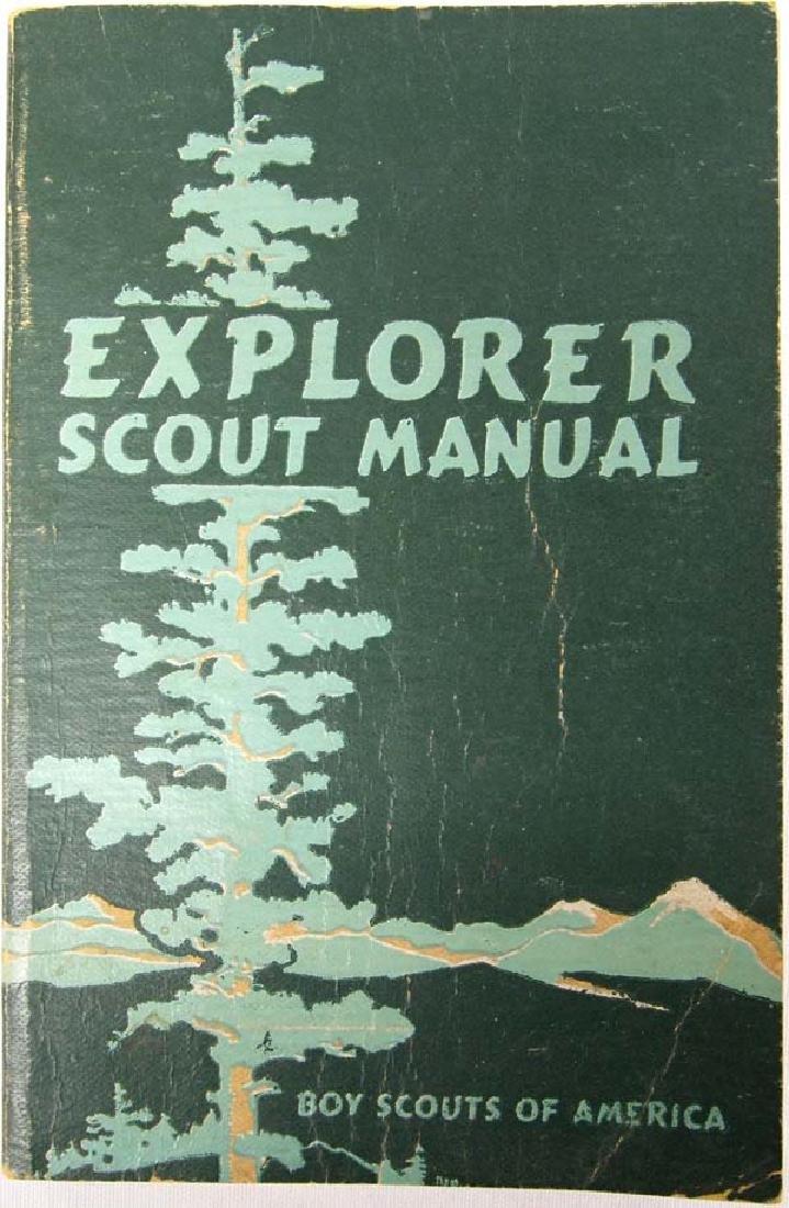 1946 Explorer Scout Manual, Boy Scouts of America
