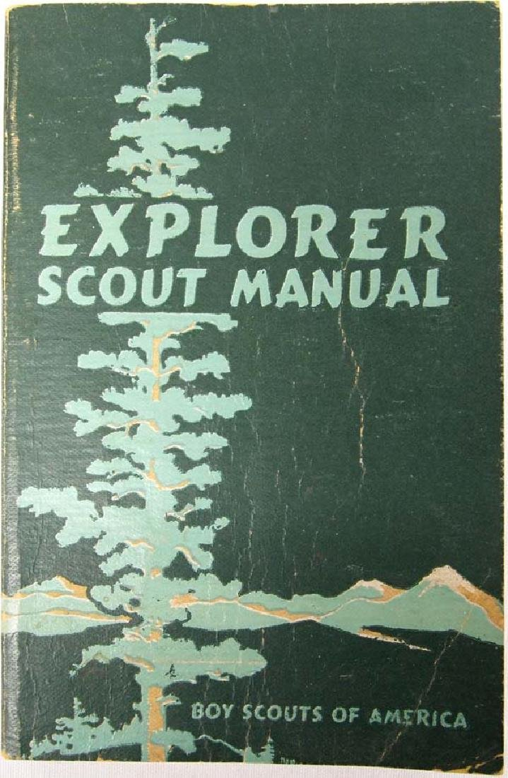 1946 Explorer Scout Manual, Boy Scouts of America