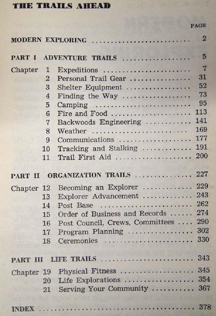 1946 Explorer Scout Manual, Boy Scouts of America - 3