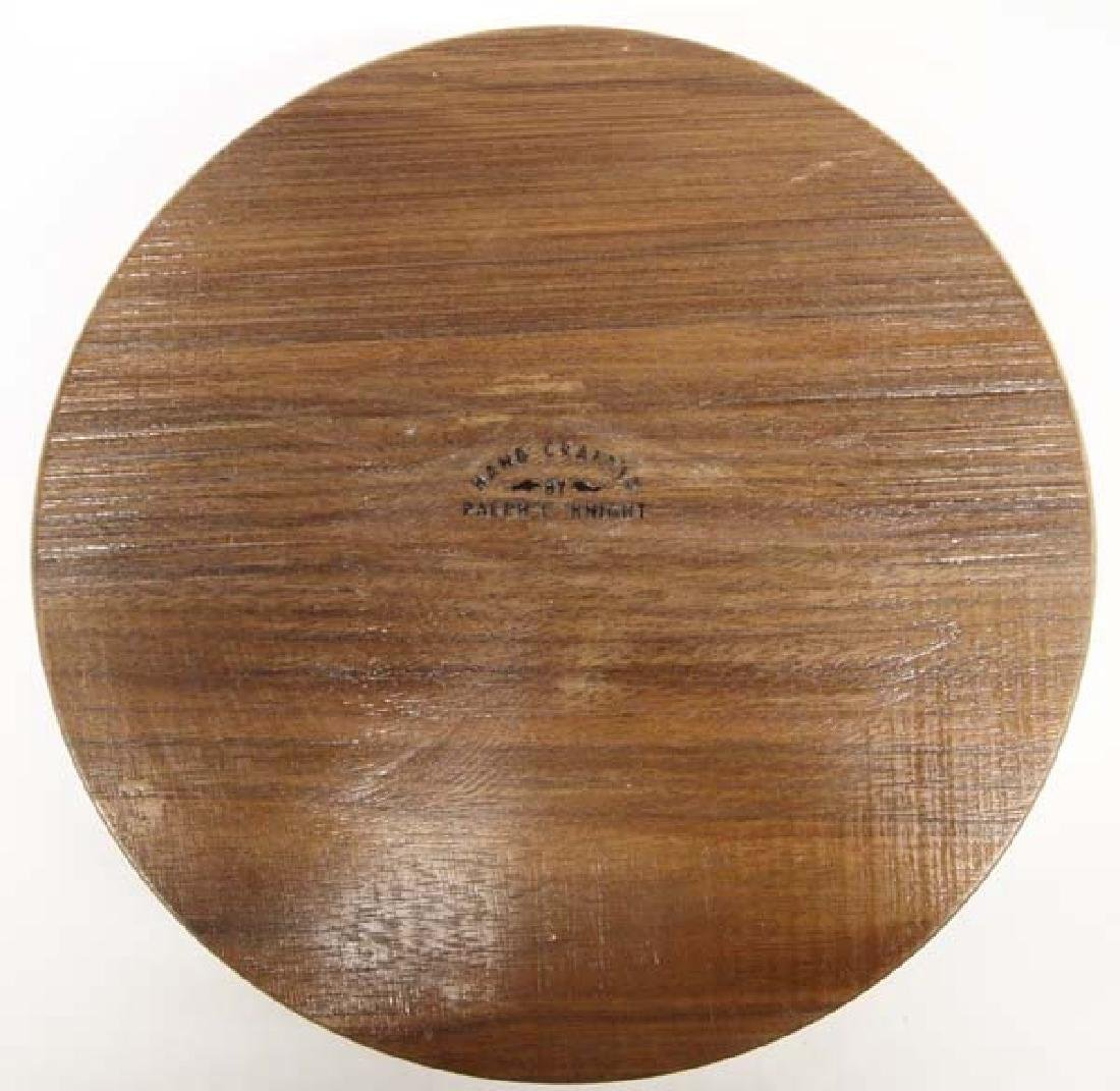 Hand Crafted Inlay Wood Bowl by Ralph Knight - 3