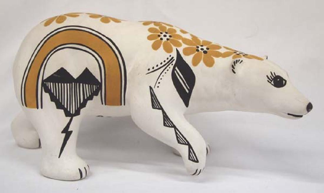 Acoma Pottery Bear by D. Chino