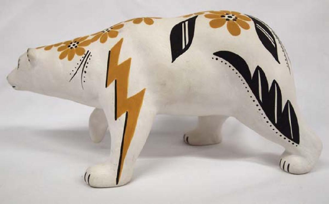 Acoma Pottery Bear by D. Chino - 2