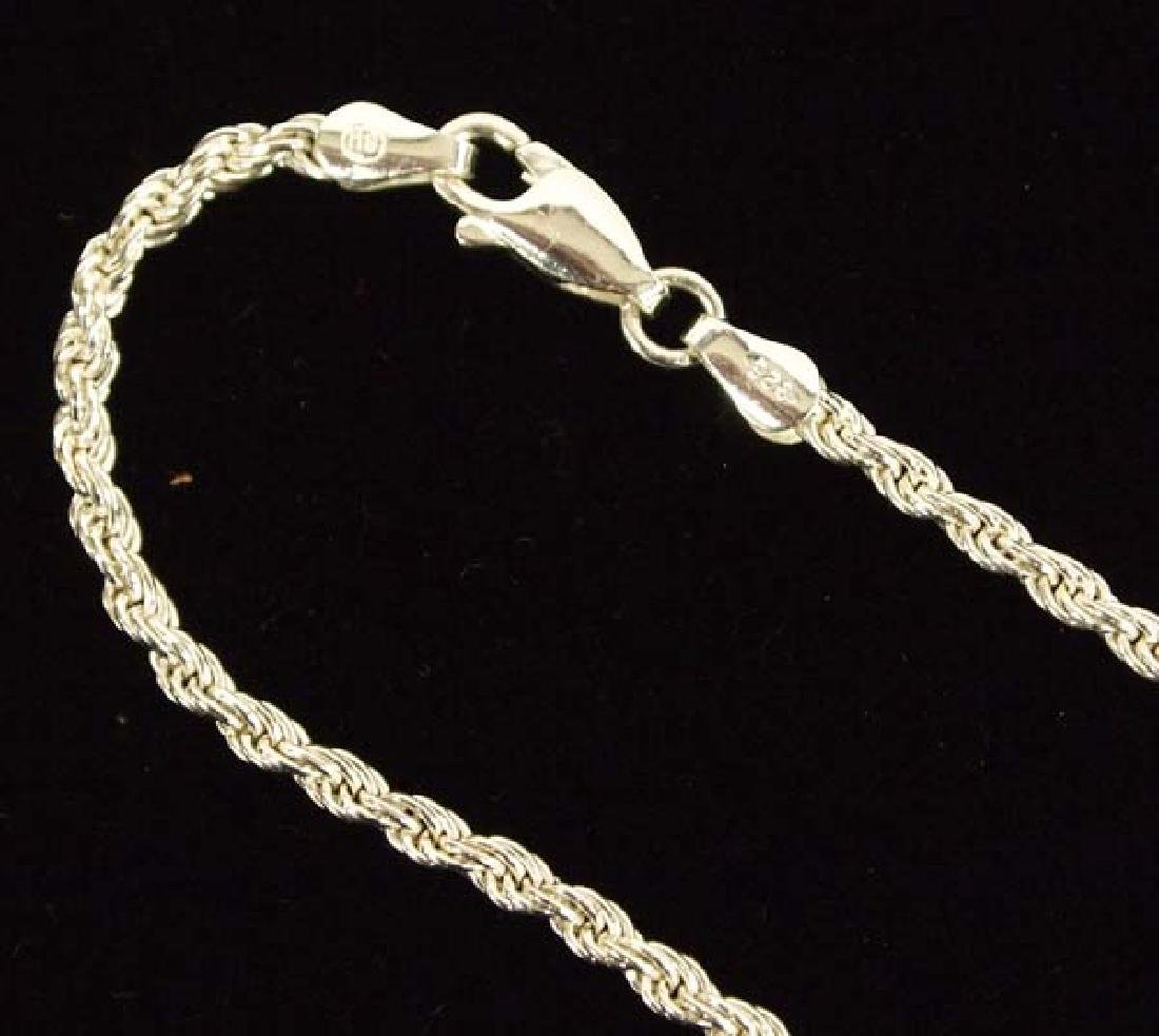 Mexican Taxco Sterling Silver Pendant Necklace - 2