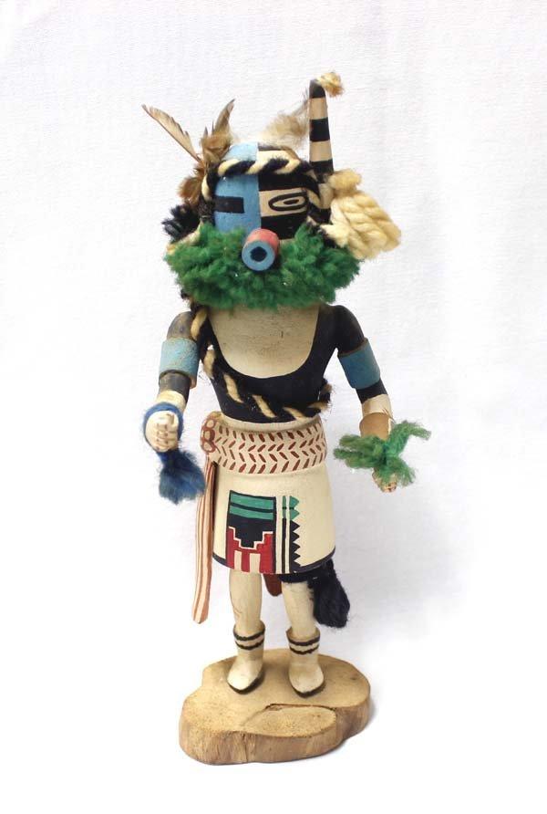 Hopi Half Clown Kachina by Stacy Talahytewa