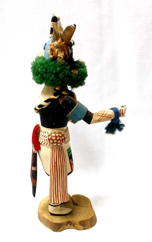 Hopi Half Clown Kachina by Stacy Talahytewa - 2