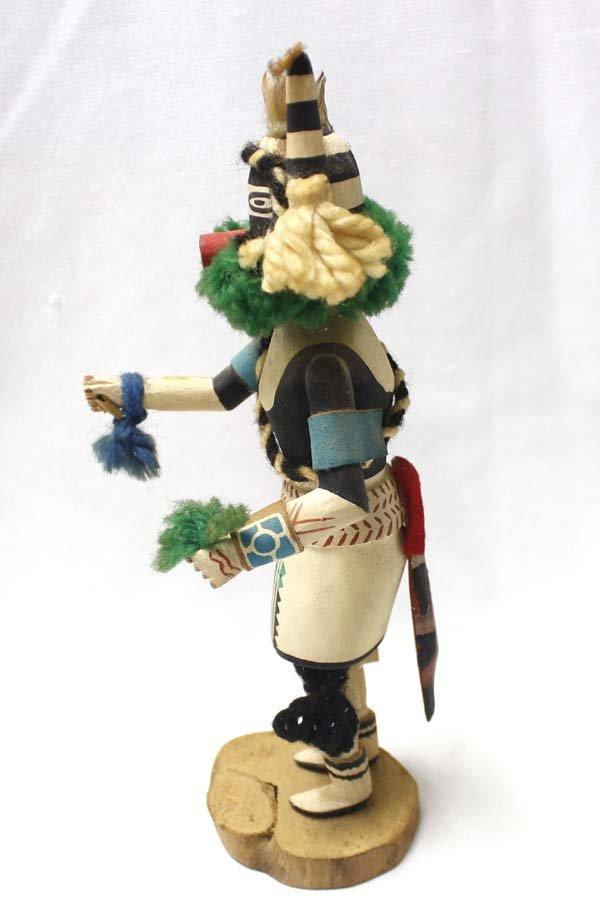 Hopi Half Clown Kachina by Stacy Talahytewa - 4