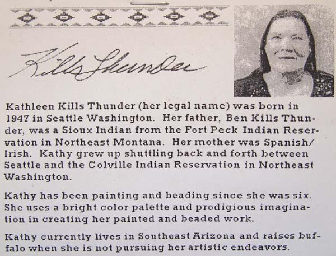Original Acrylic Painting by Kathy Kills Thunder - 4