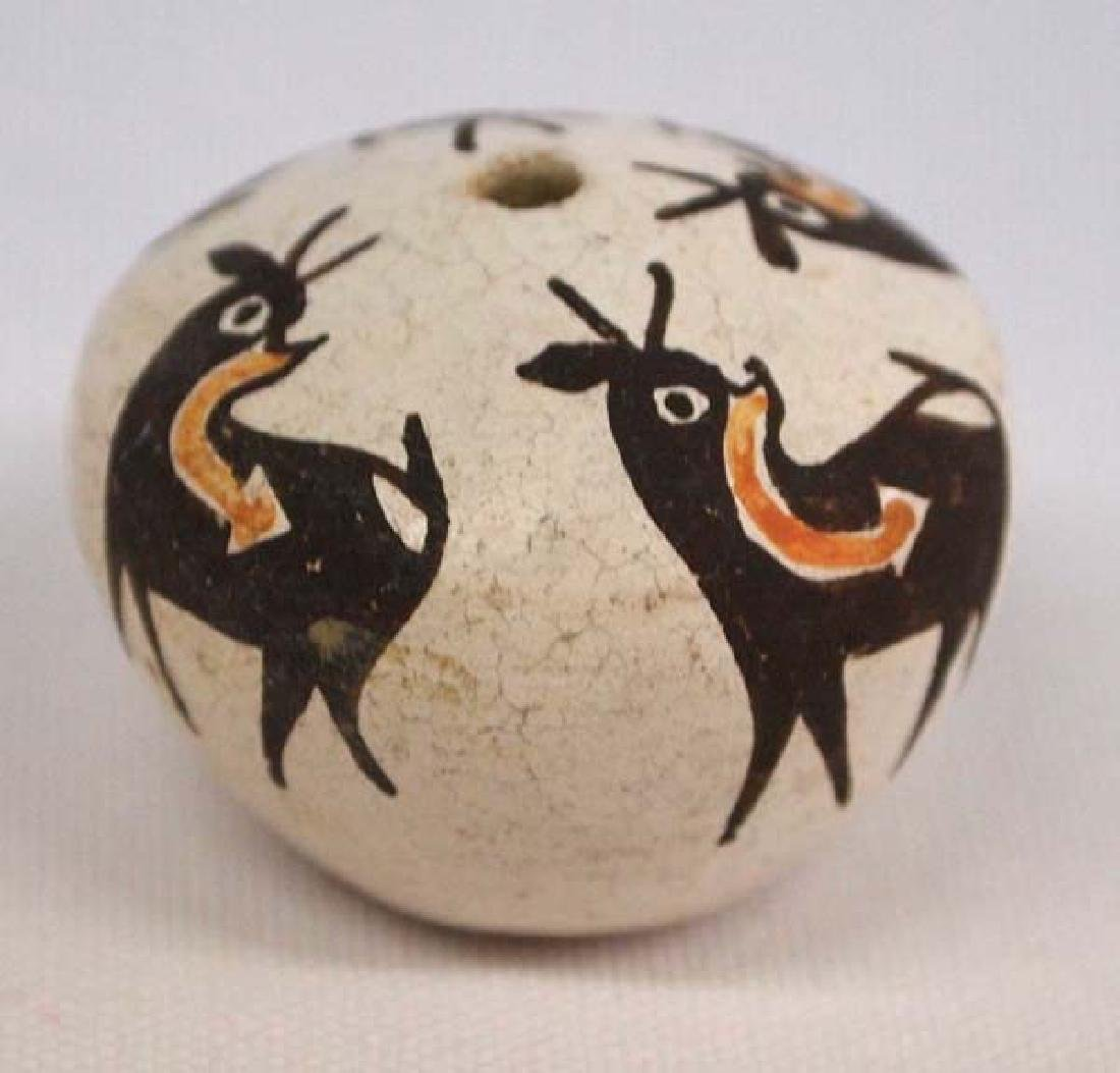 Miniature Acoma Deer Seed Jar by Chino