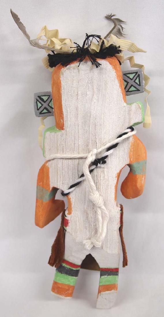 Hopi Hanging Cotton Wood Wall Kachina - 2