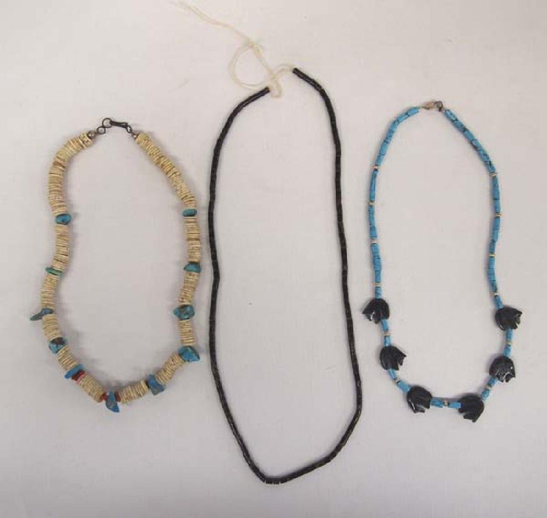Santo Domingo and Navajo Fetish Necklaces