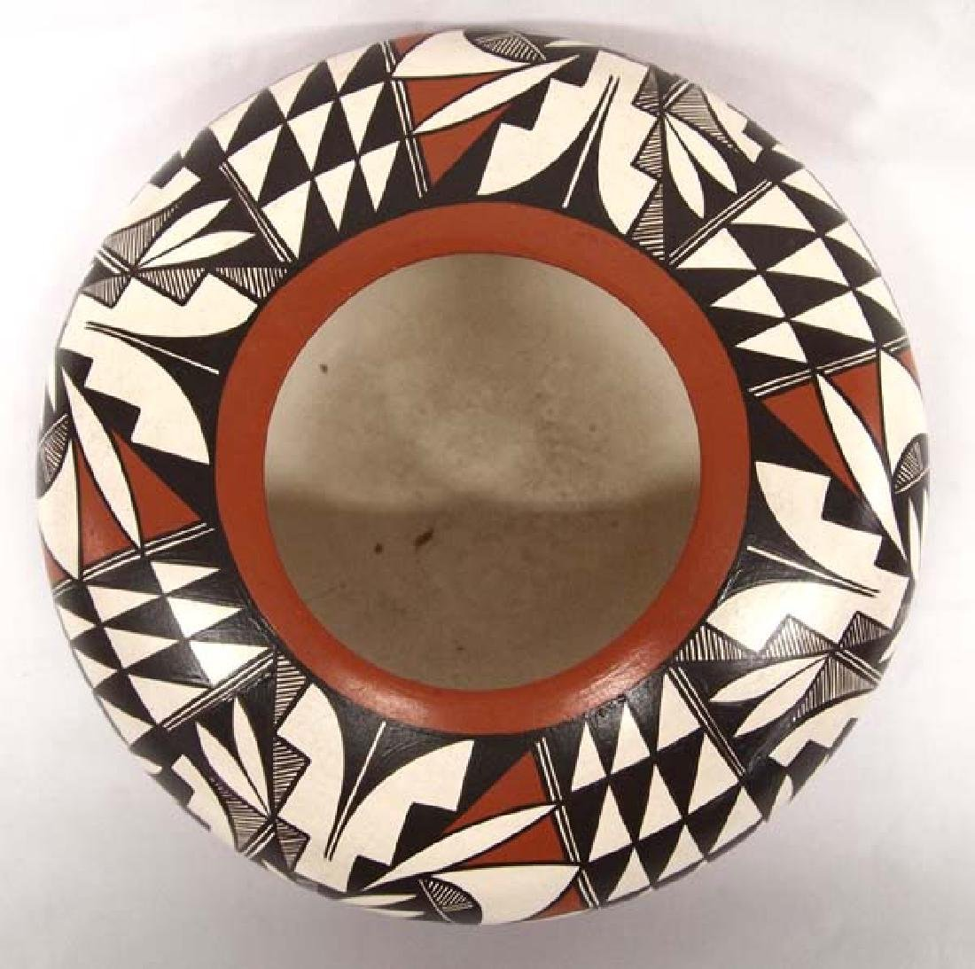Isleta Pueblo Pottery Bowl by Chiwerue - 2