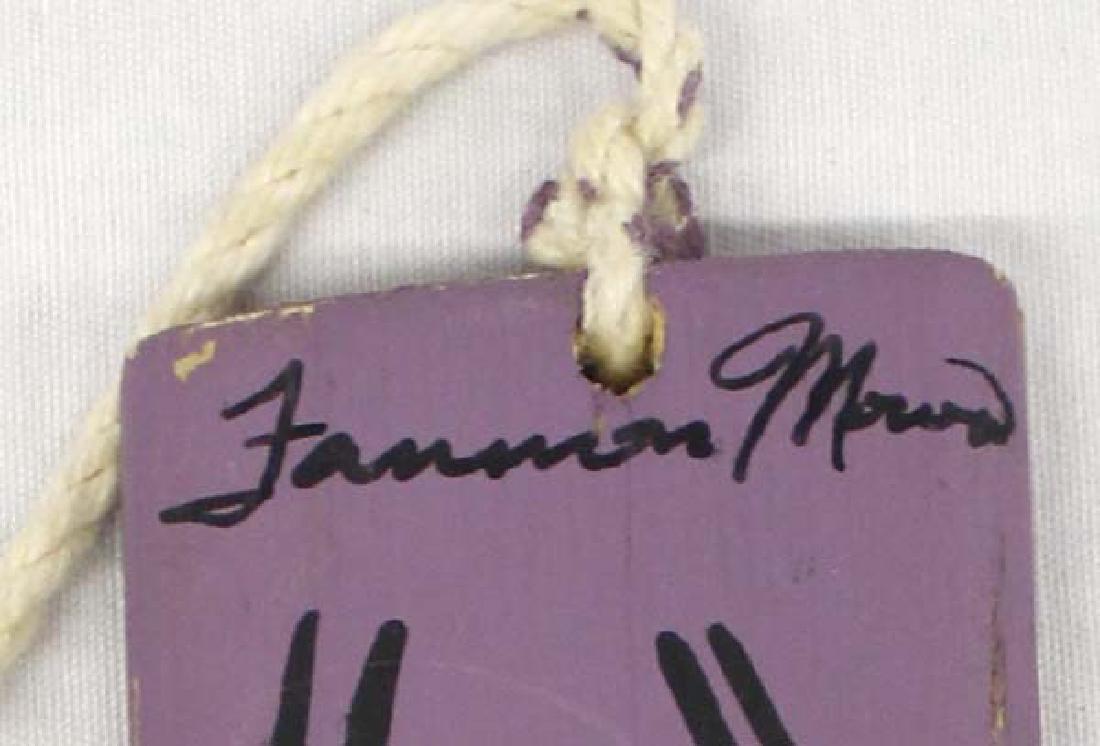 Navajo Bull Roarer Signed by Artist - 3