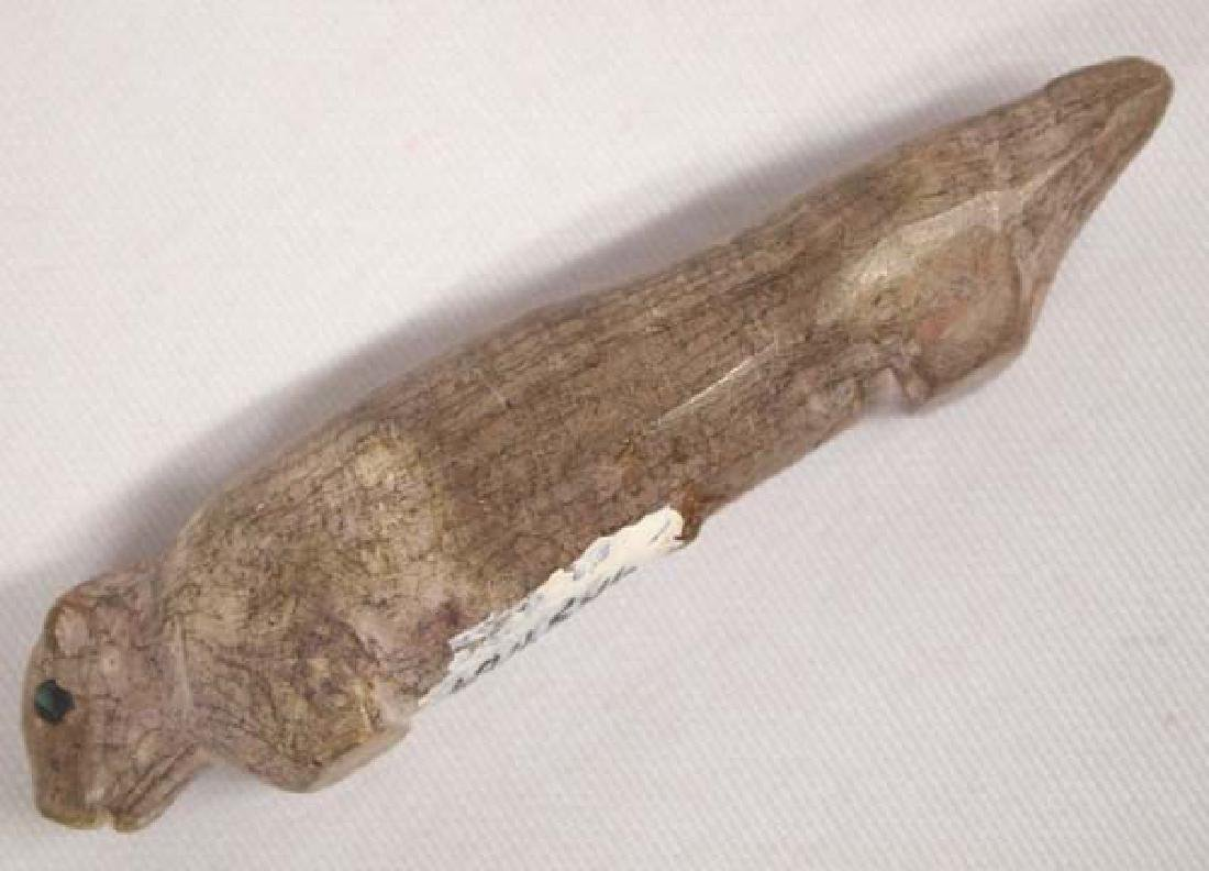 Antique Zuni Carved Stone Animal Fetish