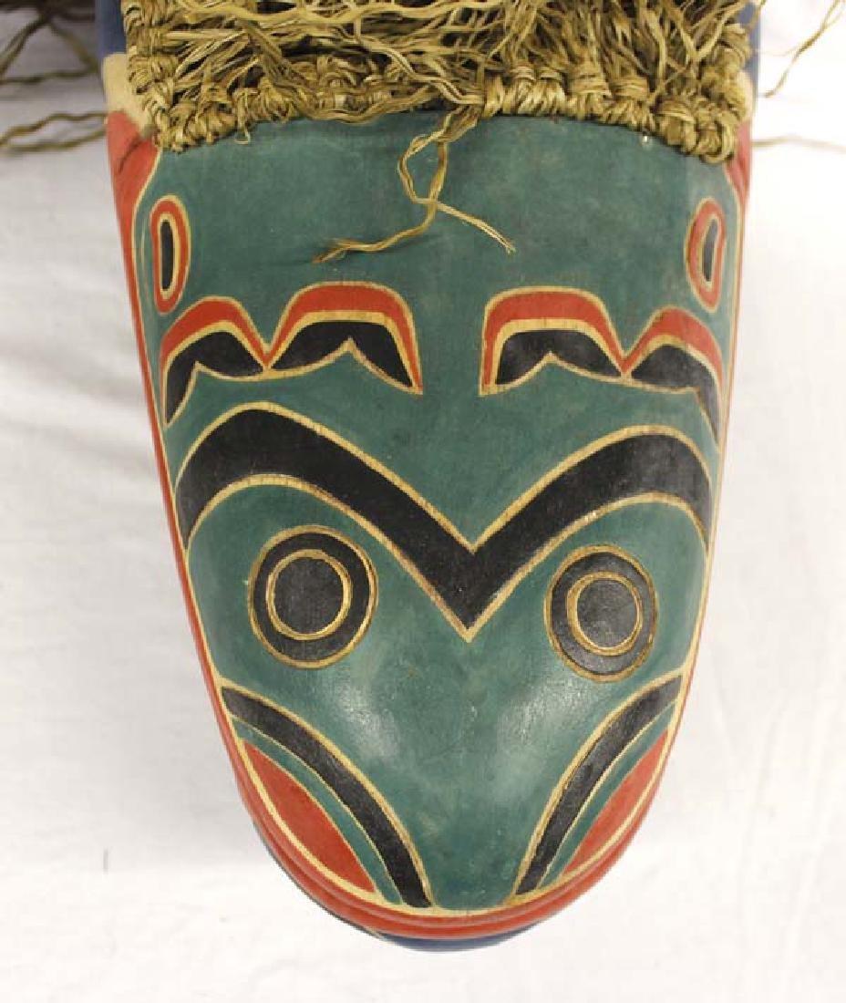 Carved Northwest Coast Style Mask - 5