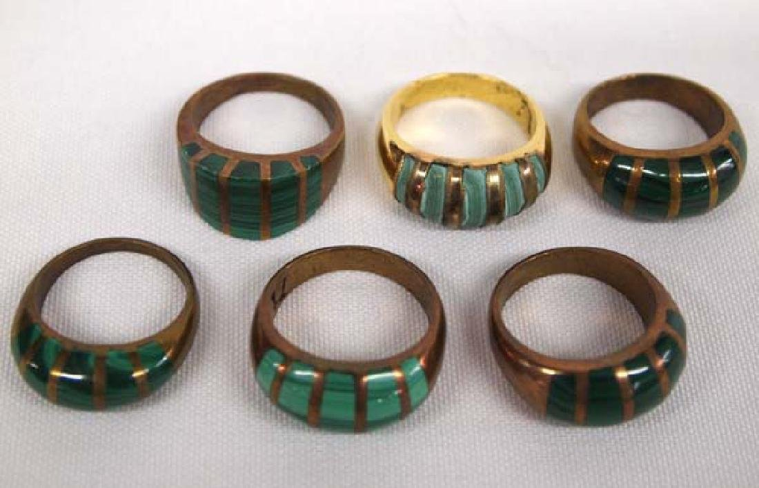 6 Rings Various Sizes
