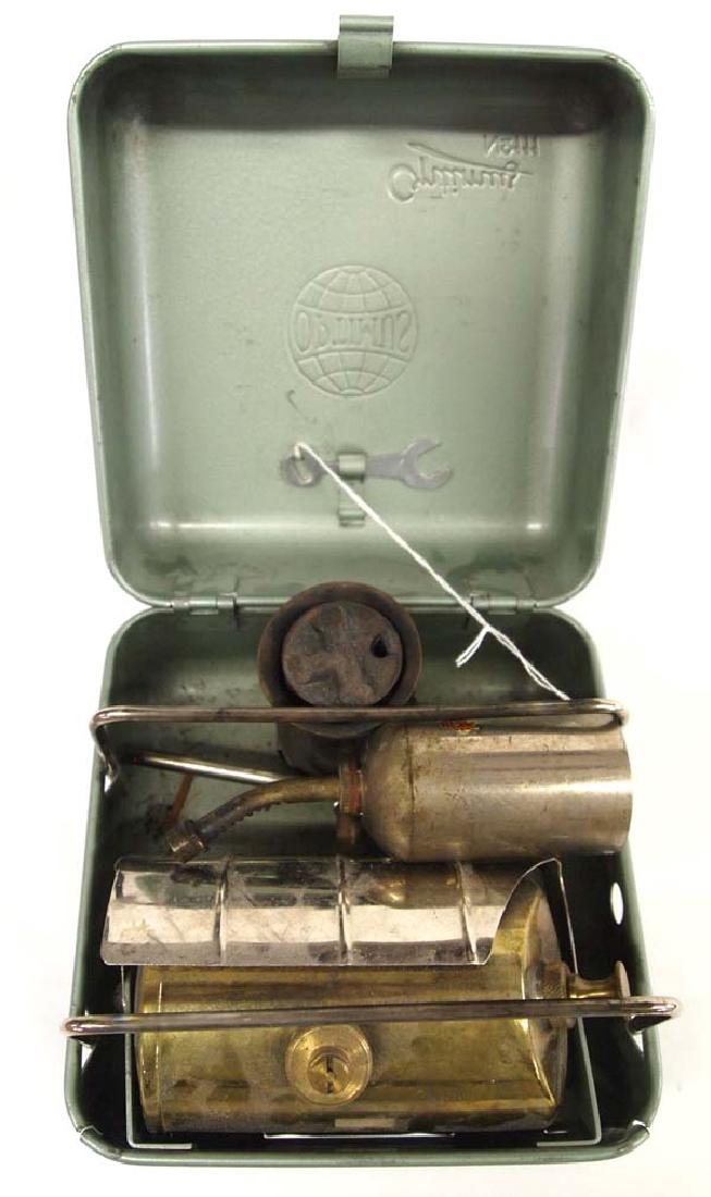 Vintage Swedish Optimus Gas Camp Stove - 3
