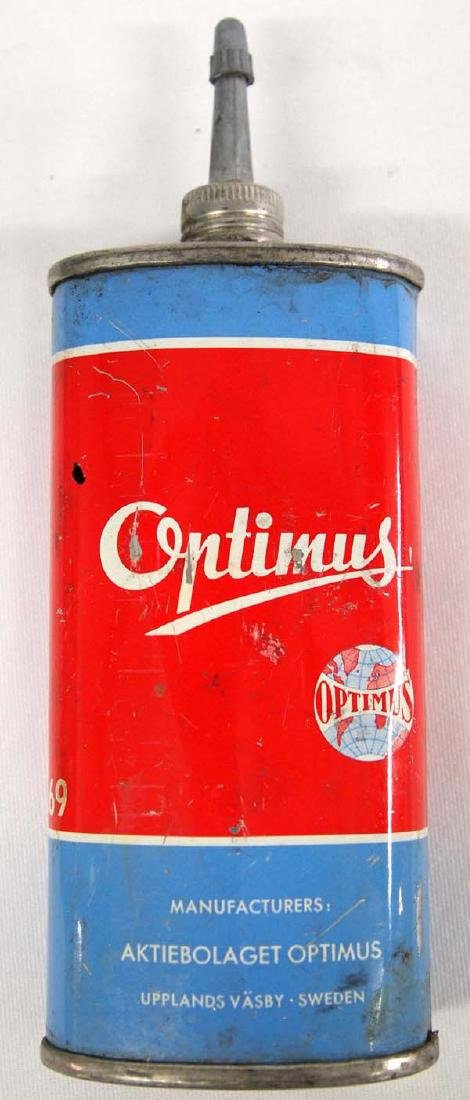 Vintage Swedish Optimus Gas Camp Stove - 4